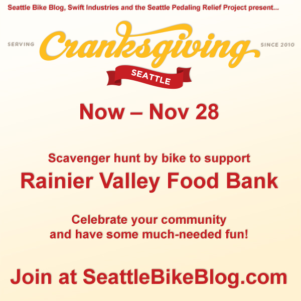 Cranksgiving poster. Details in the body text.