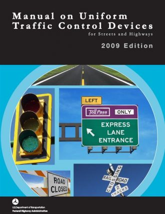 Cover of the 2009 MUTCD.