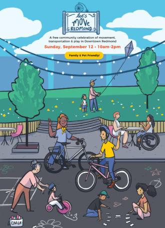 Let's Move Redmond @ Downtown Redmond Park and Redmond Central Connector Park |  |  |